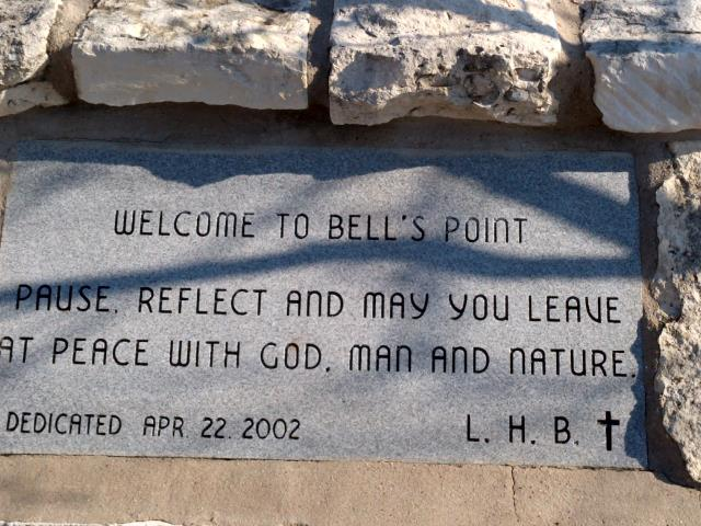 Bells Point Monument