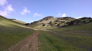 Climbing toward Brushy Peak
