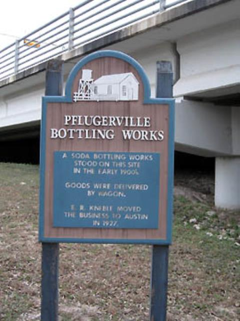 Historical Marker along the Trail.
