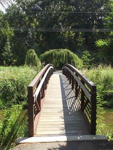 Bridge over the creek.