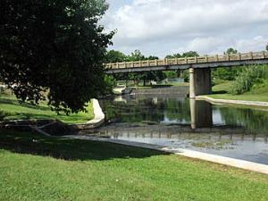 Hwy 281 bridge over Sulphur Creek