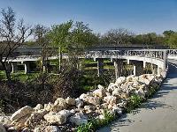 Curve of the bridge