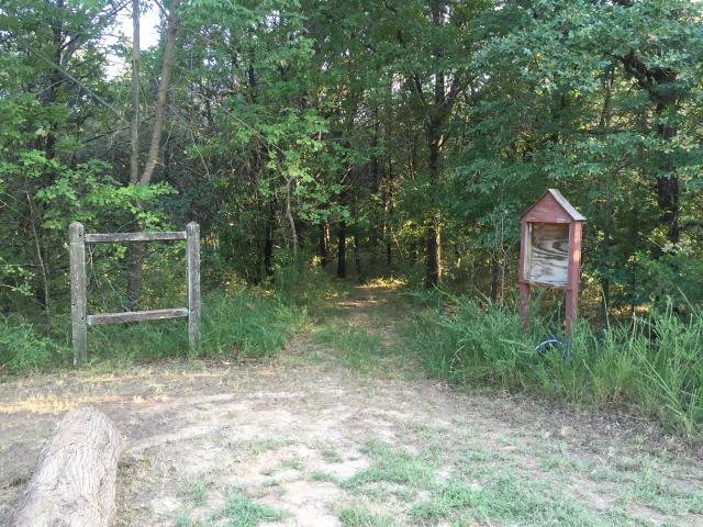 Paw Paw Creek Trail head