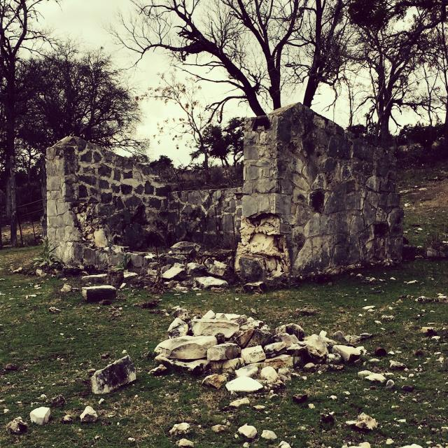 Shed ruins