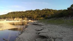 San Gabriel River in Tejas Park - Goodwater Loop