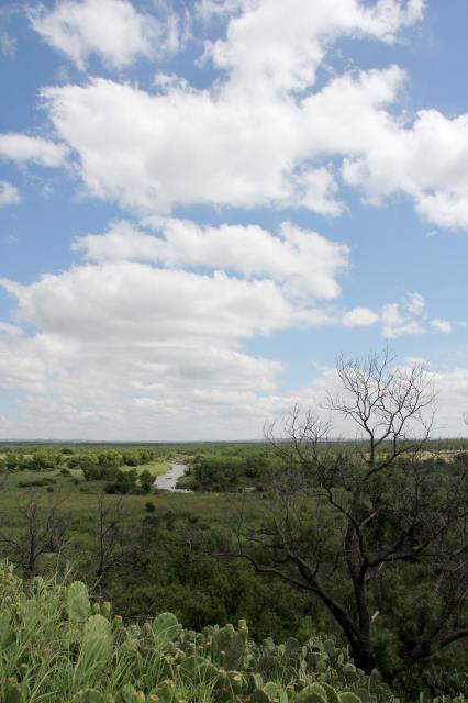 North Concho River Still Has Water