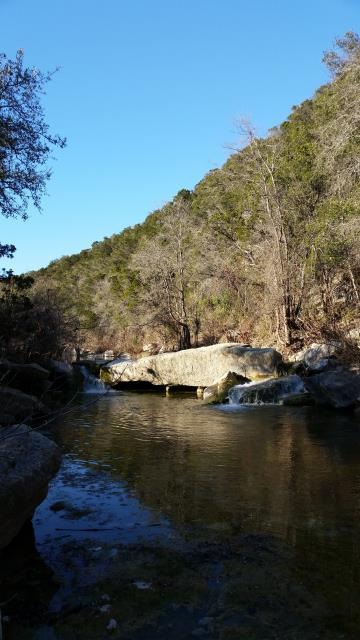 Small falls on Bull Creek