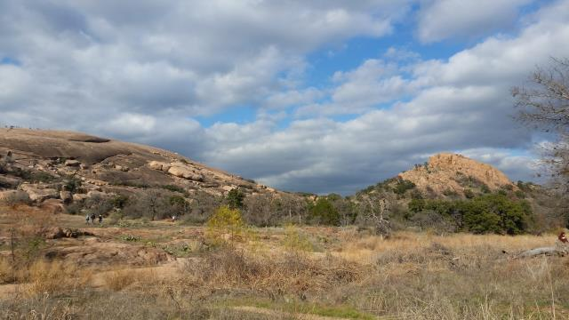 Enchanted Rock and Turkey Peak
