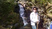 Coppertone at the falls