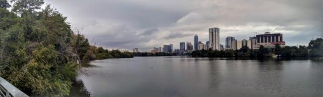 Panorama from the boardwalk