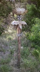 Quirky Yard Art - Jester