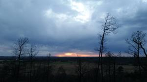 Sunset at the Scenic Overlook