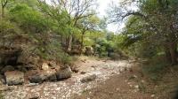 Purgatory Creek - dry at the moment