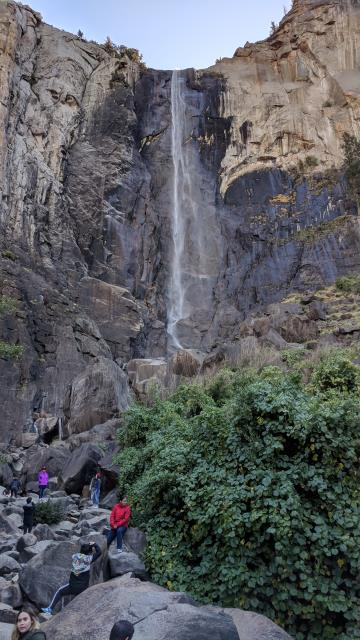 Getting Closer to Bridalveil Falls