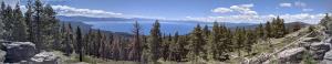 Panoramic view of Lake Tahoe