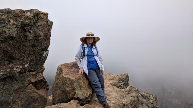 Gunsight Rock Overlook