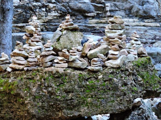 rock stacking