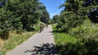 The West County Regional Trail is popular with hikers and cyclists alike.