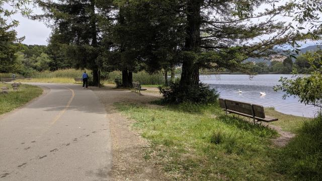 Lake and Trail