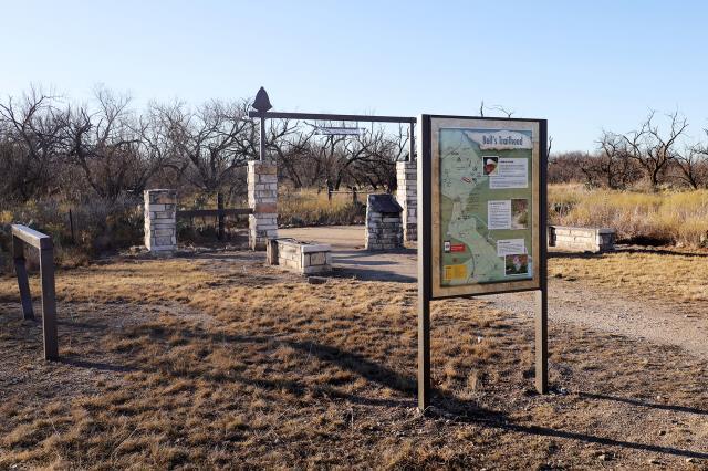 New Info Kiosk at Bell's Trailhead