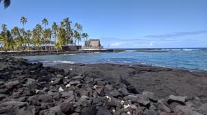 Hale o Keawe and the Pacific Coast.