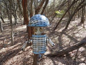 alien along the trail