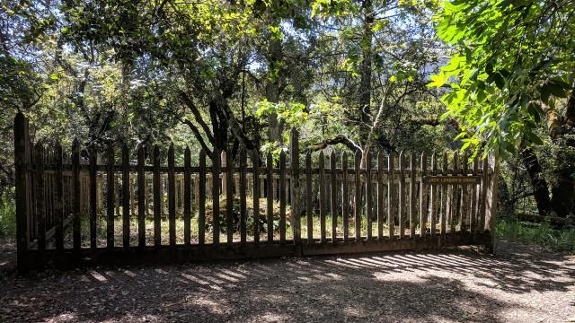 Jack London's Gravesite