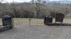 Eldridge Cemetery Gate