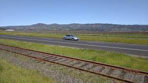 Rails, roads and rose?