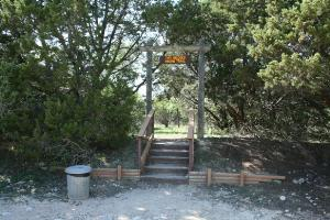 Two Bridges Trailhead Sign