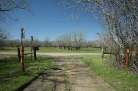 Juncture Of The Noble Road And George Bush Hike/Bike Trails