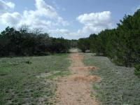 The largest open area along the trail.