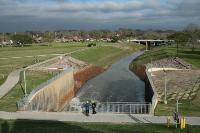 Buffalo Bayou Dam
