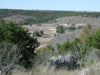 Looking down the hill to the Doeskin Ranch entrance.