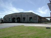 The main building at Penn Field.  It was also the largest building at the airfield when it was in operation.
