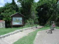 The Rock Shelter trailhead begins a short distance from the Smith Visitor Center.