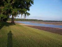 Looking across lake towards east.