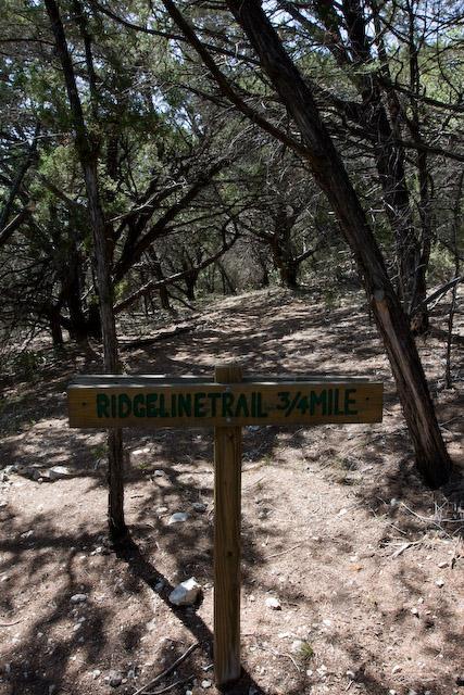 Ridgeline Trail Start