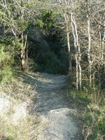 Some sections of the trail can be a bit steep.