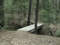 All creek crossings are easily done.  Some include a small footbridge to make the crossing even easier.