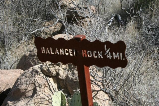 Balanced Rock Sign