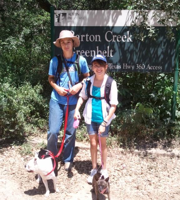 Barton Creek   June 2, 2012