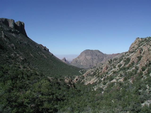 Big Bend Lost Mine Trail