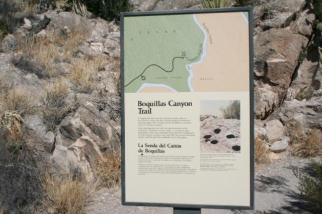 Big Bend - Boquillas Canyon Trail
