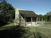 The land around Commons Ford used to be ranch land, as evidence by this old dwelling.