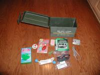 Ammo Can with cache contents