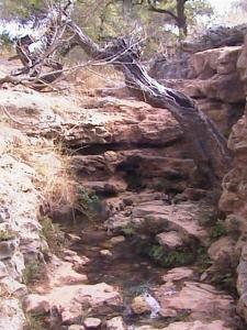 Entrance to canyon.
