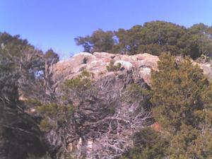 Johnson Peak off of White trail