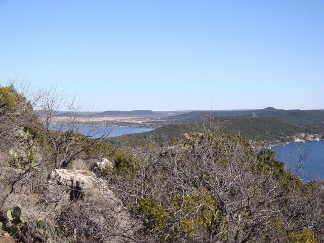 Looking toward Redbird Hill from Johnson Peak