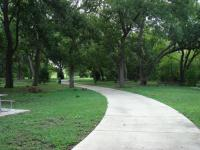 Much of the trail is in the shade. Several benches along its path provide a convenient spot for a picnic.